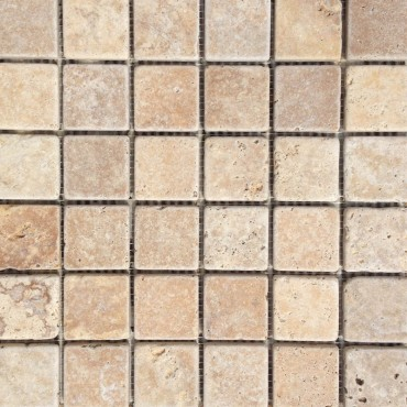 Yellow Travertine Mosaic